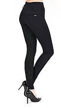 Лосины женские классика черный трикотаж размер 42
