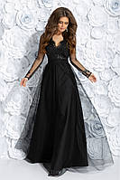 Вечернее платье макси на выпускной с 42 по 46 размер