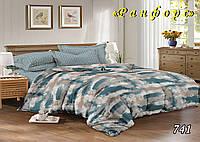 Двуспальное  постельное белье ТЕТ-А-ТЕТ 741 ранфорс