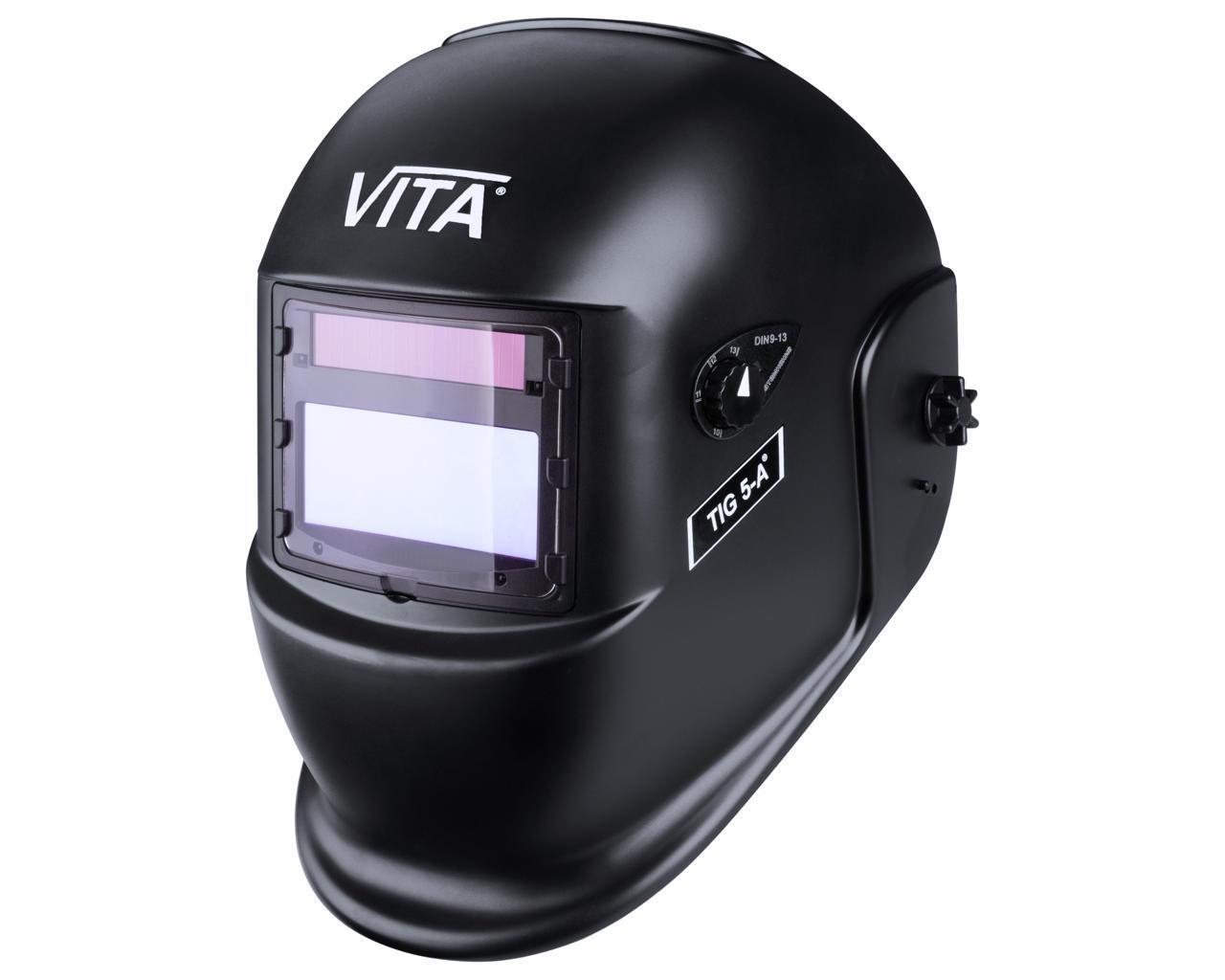 Сварочная маска VITA TIG 5-A (цвет черный)