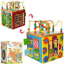 Деревянная развивающая игрушка MD 2031 лабиринт, пазлы, подвижные детали Гарантия качества Быстрота доставки