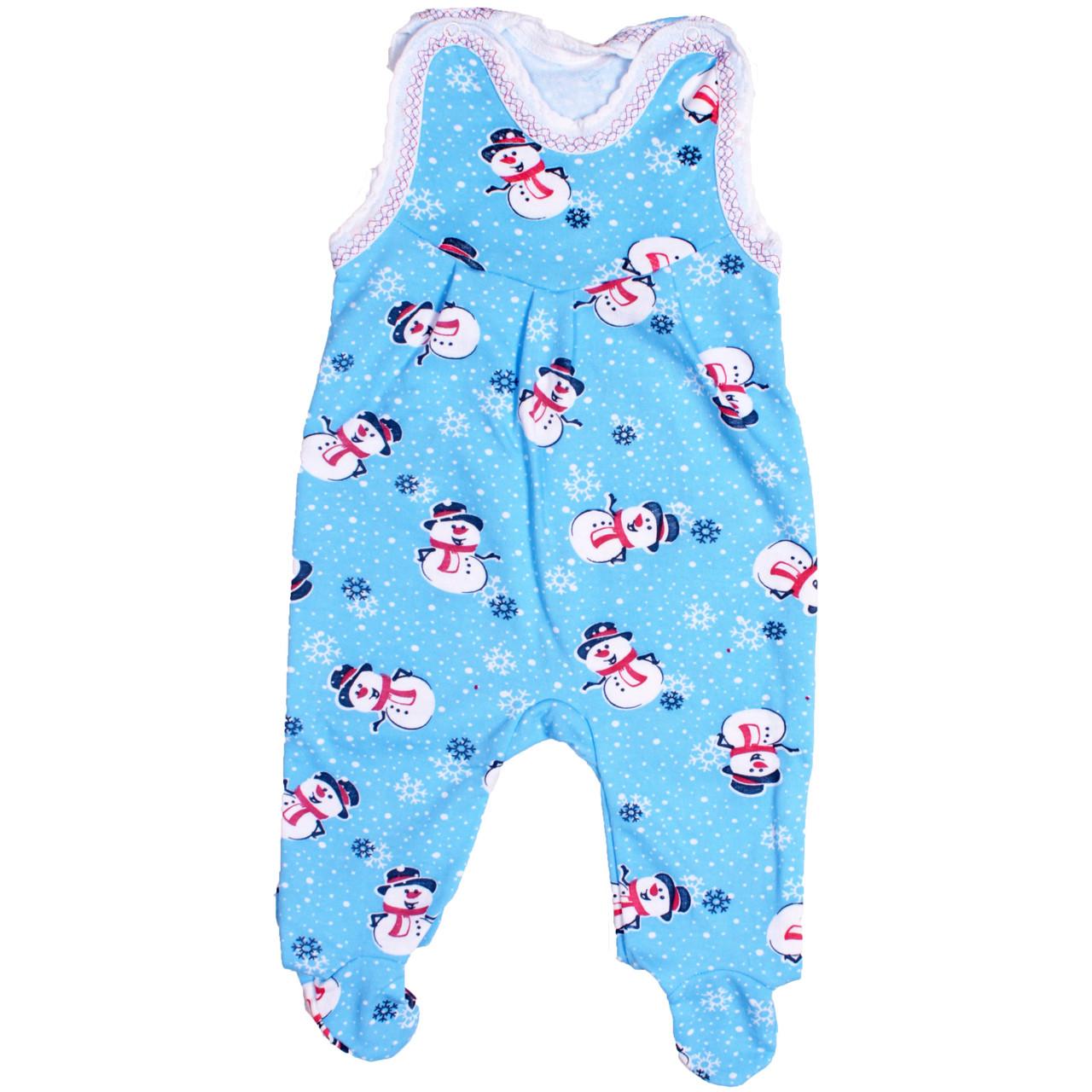 Ползунки для новорожденных теплые байка