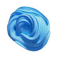 Глосси  слайм голубой лизун, объем 50 мл