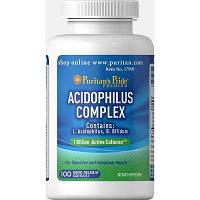 Puritan's Pride Probiotic Acidophilus Complex 1 billion / 100 Capsules