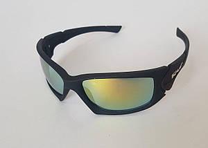Спортивные солнцезащитные очки с зеркальным эффектом