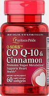 Puritan's pride Q-SORB™ Co Q-10 & Cinnamon 60 Capsules