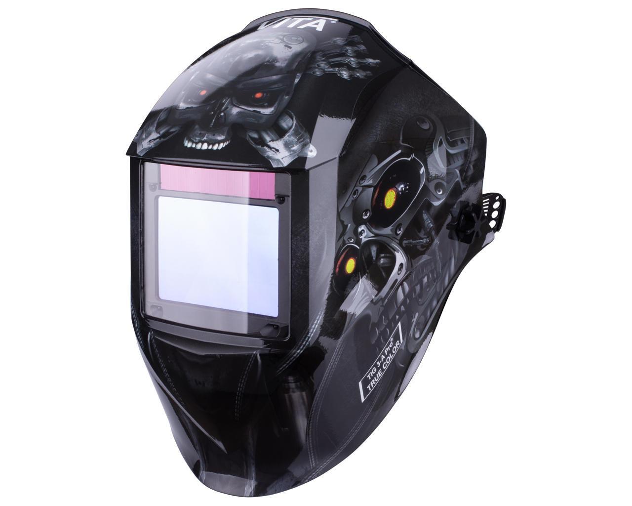 Зварювальна маска VITA TIG 3-A Pro TrueColor (колір робот)