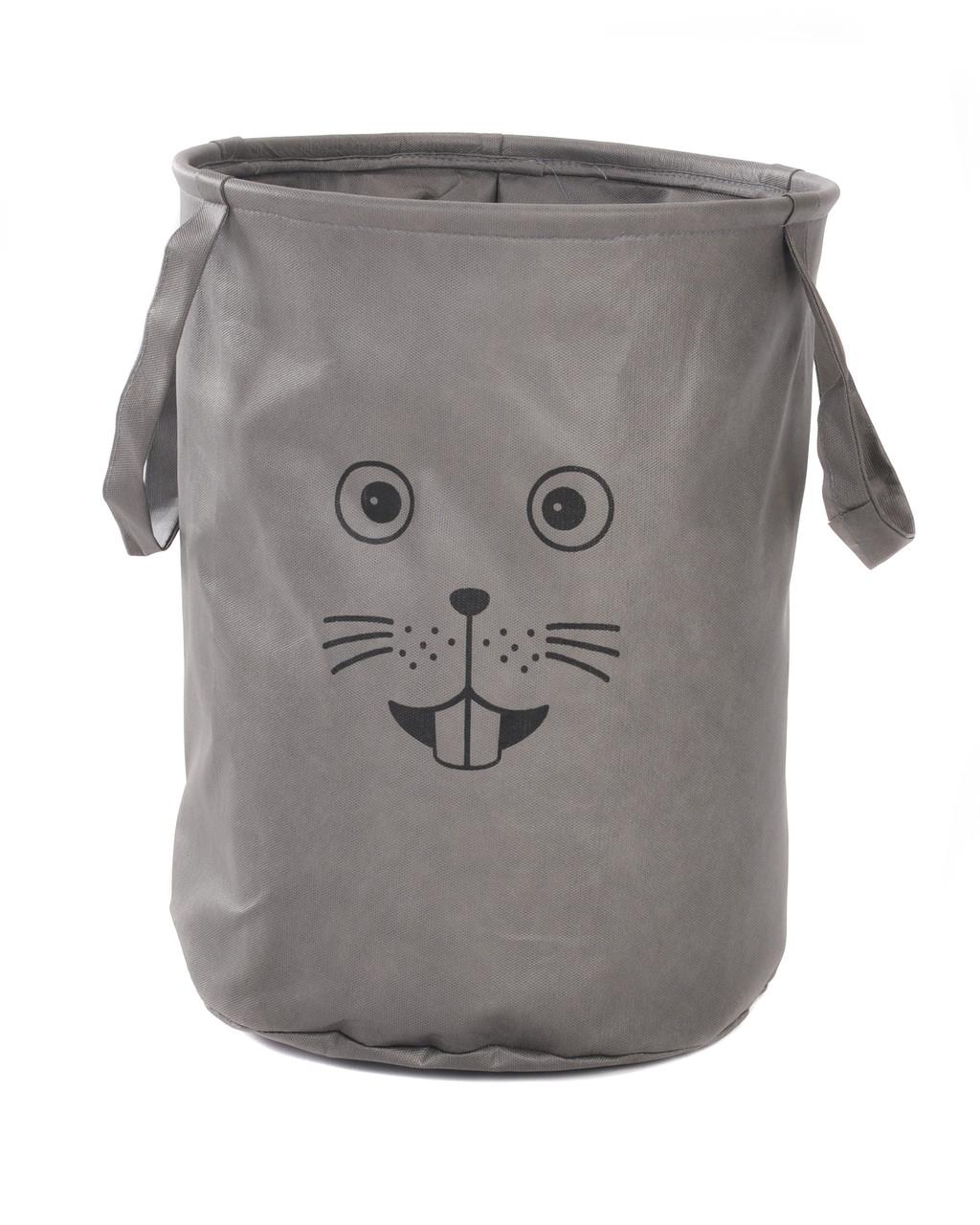 Мешок для хранения игрушек, 35 * 40 см, Зоопарк, Мышь (без крышки)