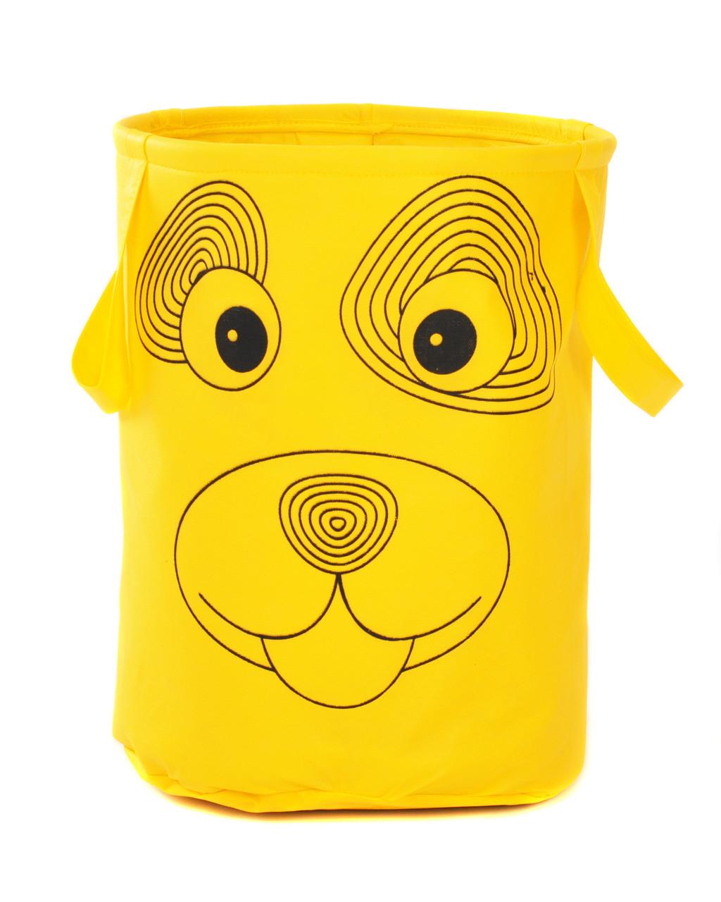 Корзина для игрушек без крышки Зоопарк 40*50 см, Собака