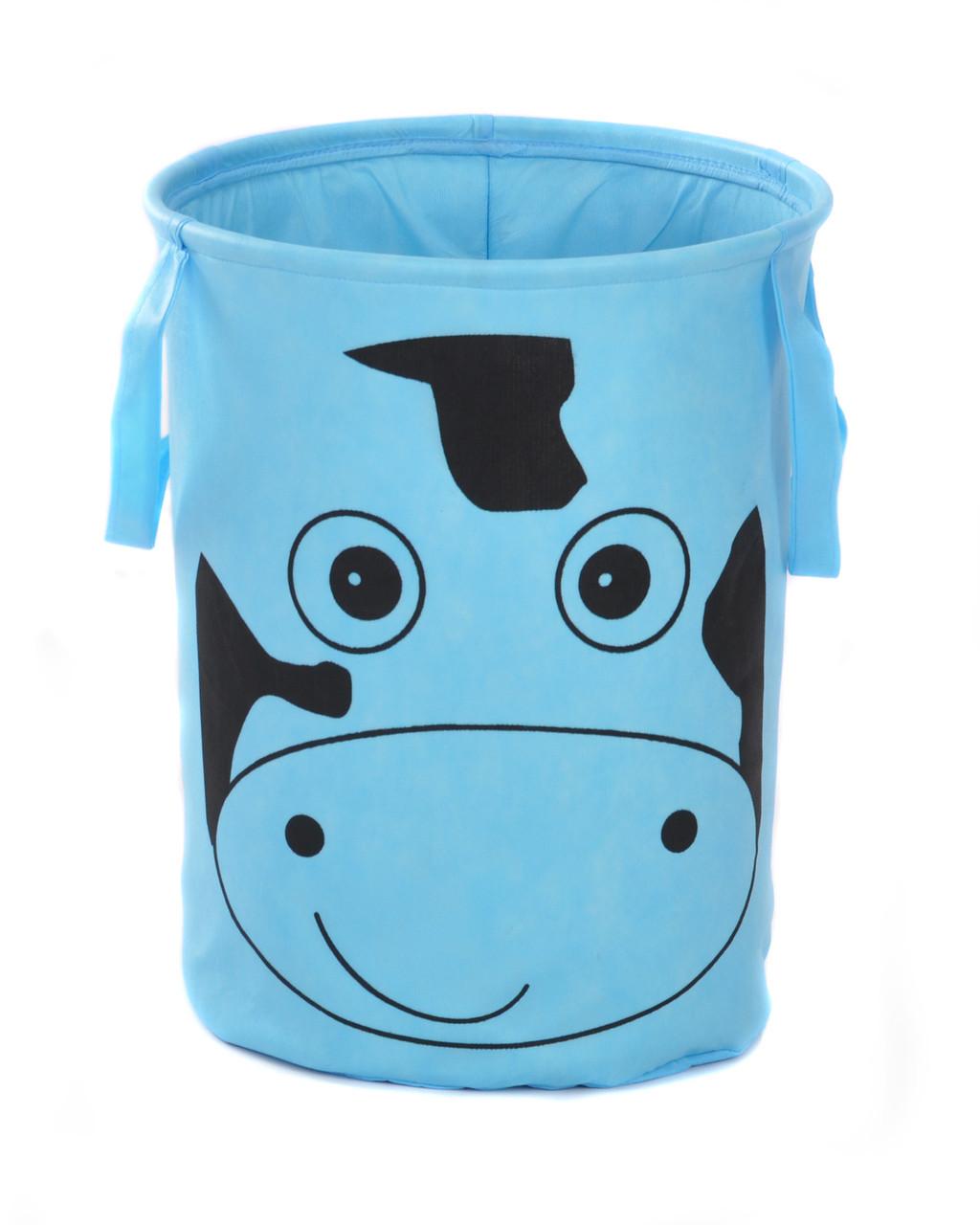 Корзина для игрушек без крышки Зоопарк 50*60 см, Корова
