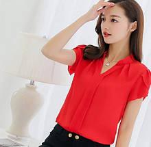 Жіноча червона блузка