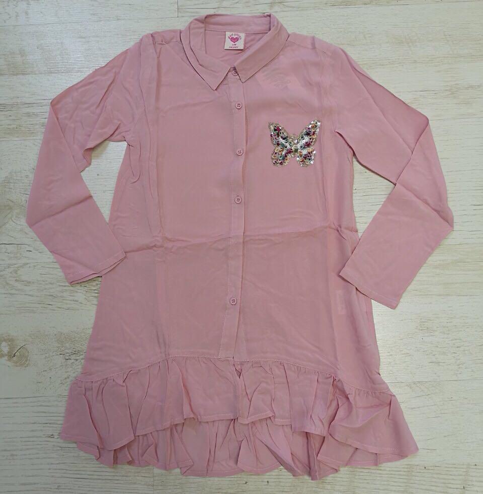 Рубашка-блузка  для девочек Glo-Story 110-140 p.p.