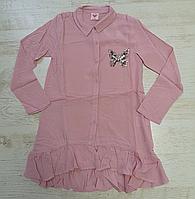 Рубашка-блузка  для девочек Glo-Story 110-150 p.p.