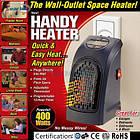 Портативный обогреватель Handy Heater Rovus  400 Вт настенный и керамический , фото 5