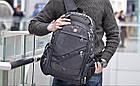 Швейцарский рюкзак SwissGear 8810 с USB, AUX и часами Swiss Army в Подарок, фото 3