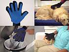 Перчатка для вычесывания шерсти животных True Touch, фото 4