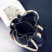 Женская сумка классическая в наборе сумка через плечо Tiffany Черный, фото 10