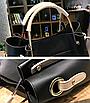 Женская сумка классическая в наборе сумка через плечо Tiffany Черный, фото 8