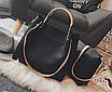 Женская сумка классическая в наборе сумка через плечо Tiffany Черный, фото 6