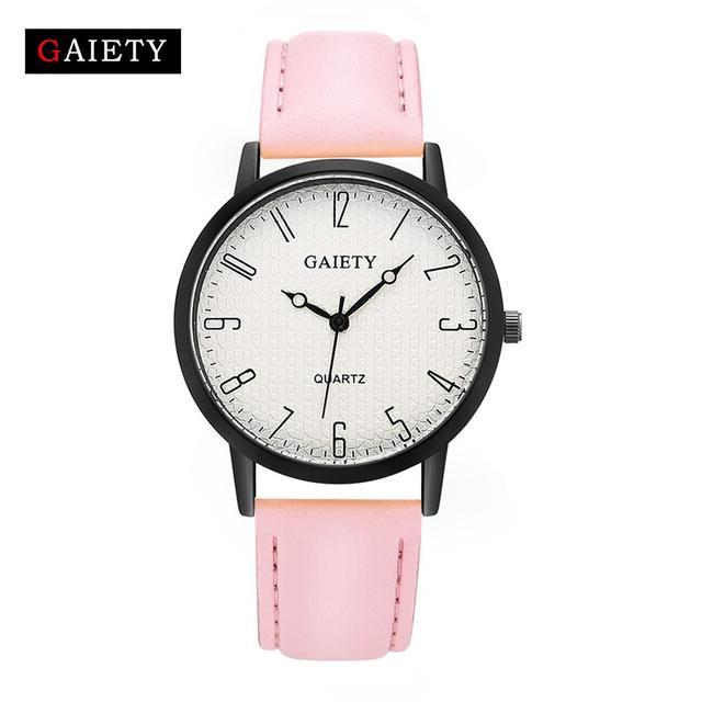 Женские наручные часы Gaiety с розовым ремешком