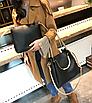 Женская сумка классическая в наборе сумка через плечо Tiffany Черный, фото 7