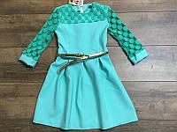 Нарядное платье для девочек 128-  рост