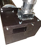 Универсальный модульный дымосос ДБУ WWK 180/75W Ø-140 (диаметр дымохода 140мм), фото 7