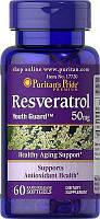Puritan's pride Resveratrol 50 mg 60 Softgels