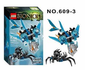 Конструктор KSZ 609-3 Бионикл Тотемное животное Воды Акида (аналог Lego Bionicle 71302)