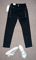 Стрейчевые джинсы для девочек dream girl 8-10 лет