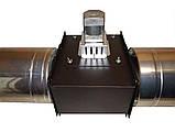 Универсальный дымосос для твердотопливного котла ДБУ WWK 180/75W Ø-200 (диаметр дымохода 200мм), фото 6