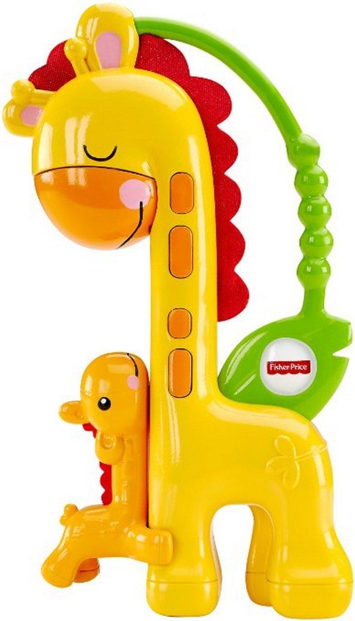 Погремушка Поцелуй мамы-жирафа Fisher Price   CGR92