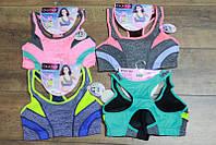 Женский спортивный топ M- XL размеры