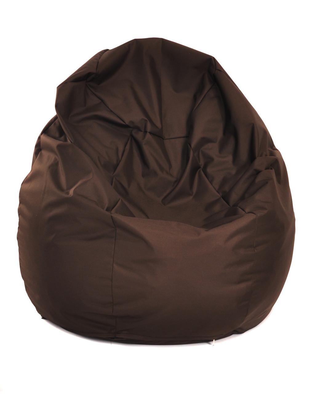 Пуф Груша Размер ХL 110*90 см, оксфорд коричневый