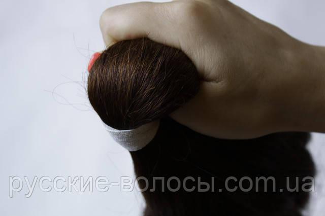Срез волос ― не подтянутый хвост.