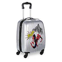 Чемодан детский Спайдер мен на колесах Дисней Spider-Man Rolling Luggage for Kids