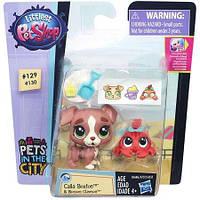 Набор фигурок с аксессуарами Hasbro Littlest Pet Shop. Calla Boxton & Blossom Clauson