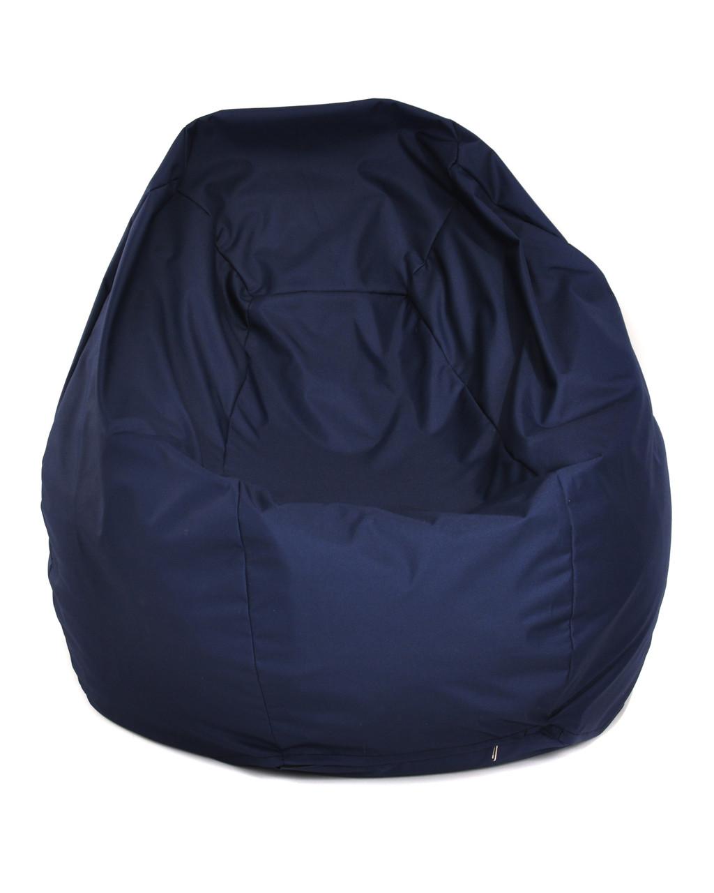 Пуф Груша Размер ХL 110*90 см, оксфорд синий