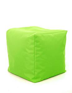 Пуф куб Оксфорд 40х40х40 см, зеленый