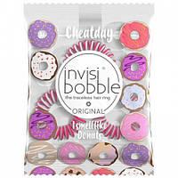 Резинки для волос Invisibobble из коллекции Cheatday Donut Cream
