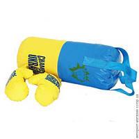 Набор боксерский, малый (груша + перчатки 2шт)