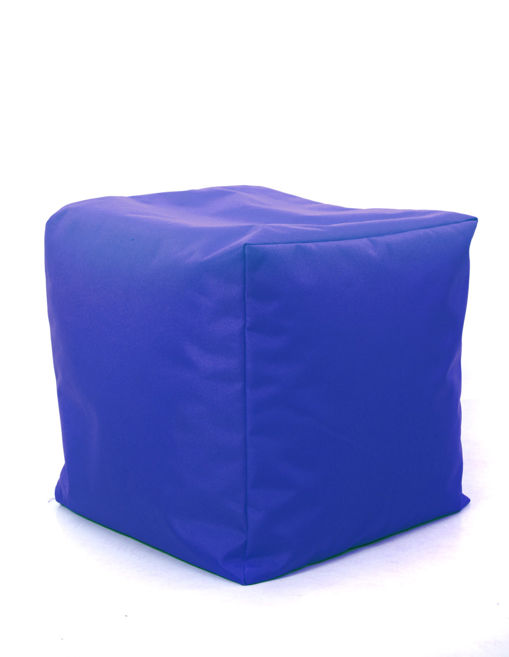 Пуф куб Оксфорд 40х40х40 см, синий