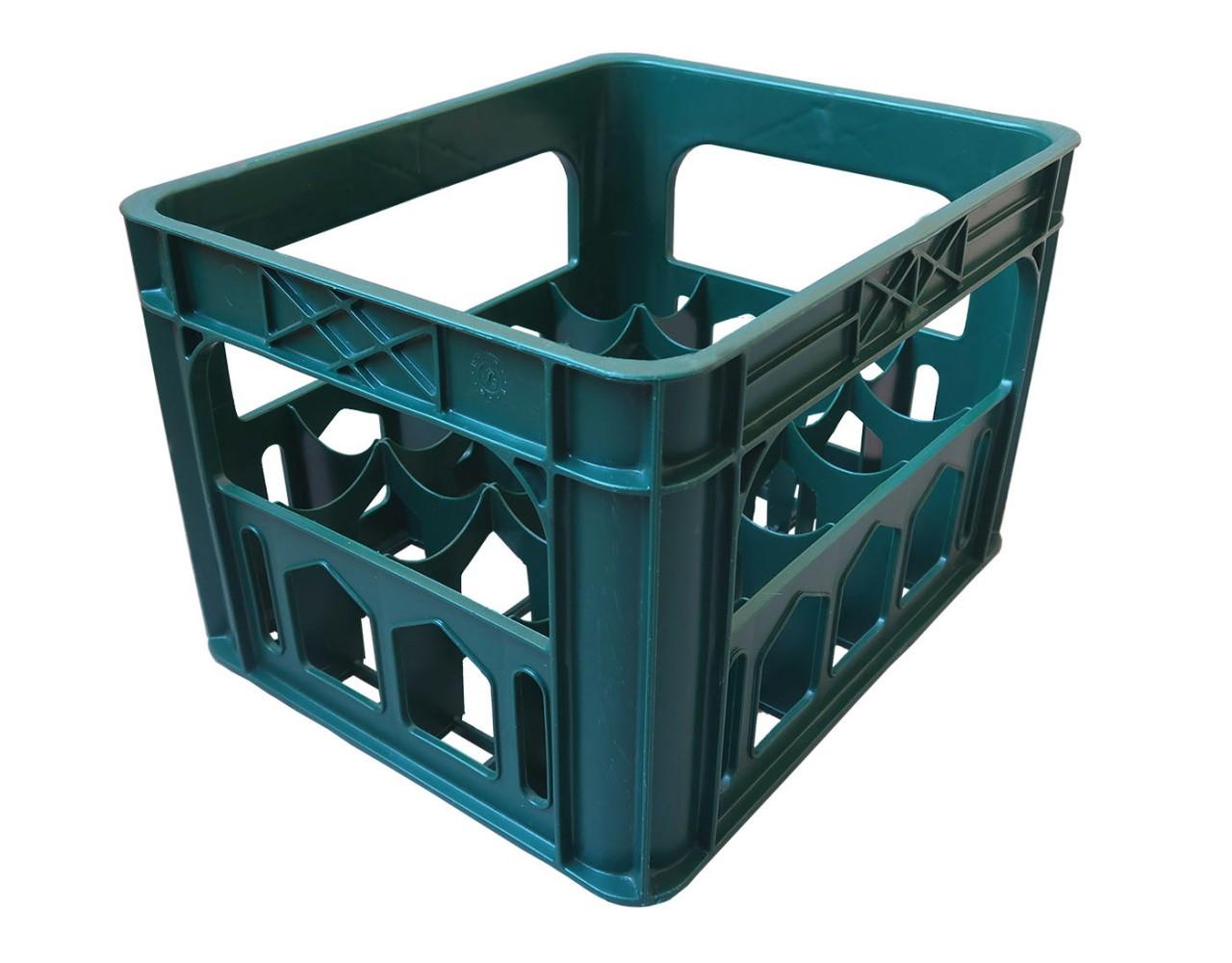 Ящик пластиковый под бутилку (420x340x275)