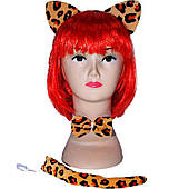 Набор карнавальный Леопард 250216-373