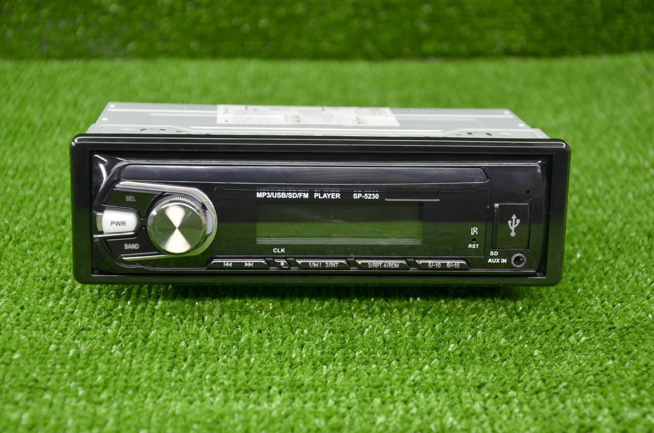 Магнитола Pioneer 5230 USB,SD карта,ПУЛЬТ,AUX+FM (4x50)