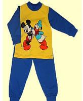 Пижама детская трикотажная( начес ) для мальчика