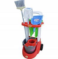 Тележка с принадлежностями для уборки Wader 46956