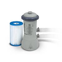 Фильтр-насос для наливных и каркасных бассейнов Intex 28602 Серый (int28602)