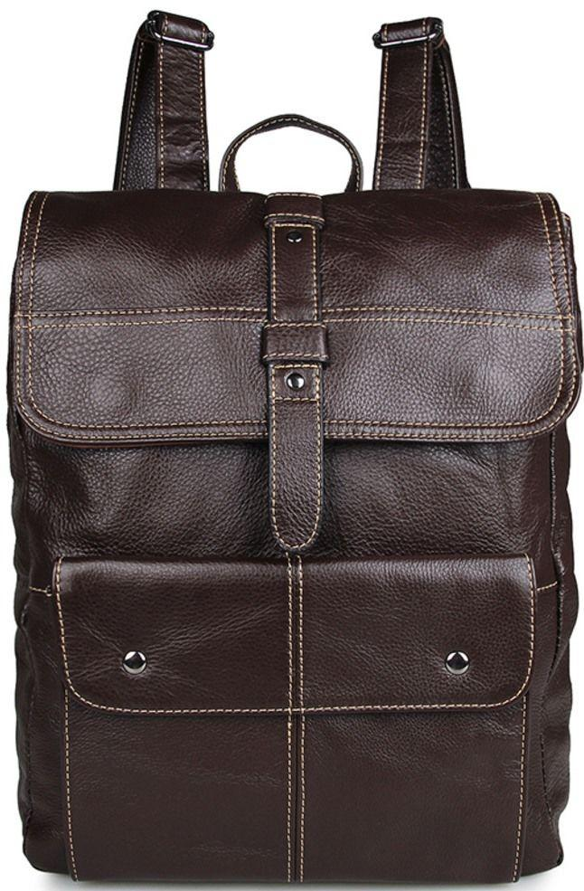 3cc60415575f Рюкзак Vintage 14619 Коричневый, Коричневый - Цена, купить недорого ...