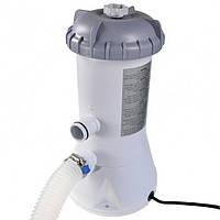 Фильтр-насос от сети 220-240 В для наливных и каркасных бассейнов Intex 28604 Серый (int28604)